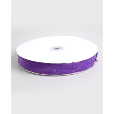 Стрічка оксамитова 2.5 см, 89, 23 м., фіолетова