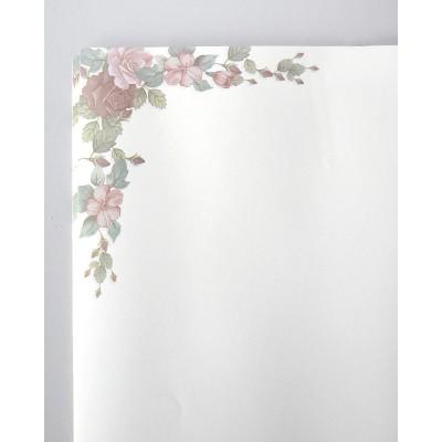 Бумага влагостойкая , 60*60 cm, 20 листов, белый