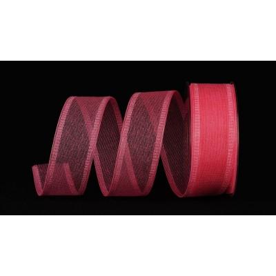 Лента Cotone, 40 мм*20 м, розовый