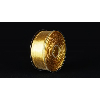 Лента Specchio, 40 мм*25 м, золотая
