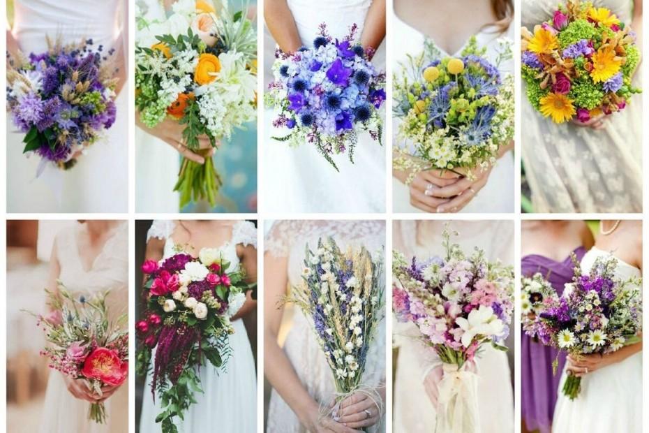 Как выбрать свадебный букет? Цветовые решения свадеб диктуют цвета для букета невесты