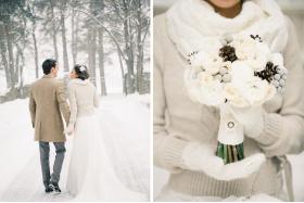Зимовий образ нареченої. Як правильно вибрати квіти і аксесуари?