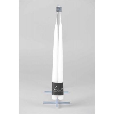 Набор свечей столовых Luz Your Senses®, высота 40 см, цвета в ассортименте,  6-31037 - купить  в магазине Украфлора по лучшей цене, всего 176 грн