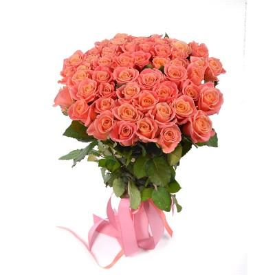 Букет из роз Мисс Пигги в ассортименте,  6-22306 - купить  в магазине Украфлора по лучшей цене, всего 2 738 грн