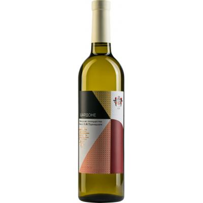 Вино столовое Шардоне белое ординарное Винодельное хозяйство князя М. П. Трубецкого,  6-25501 - купить  в магазине Украфлора по лучшей цене, всего 120 грн