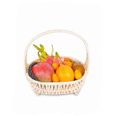 Корзинка с экзотическими фруктами,  6-33057 - купить  в магазине Украфлора по лучшей цене, всего 849 грн