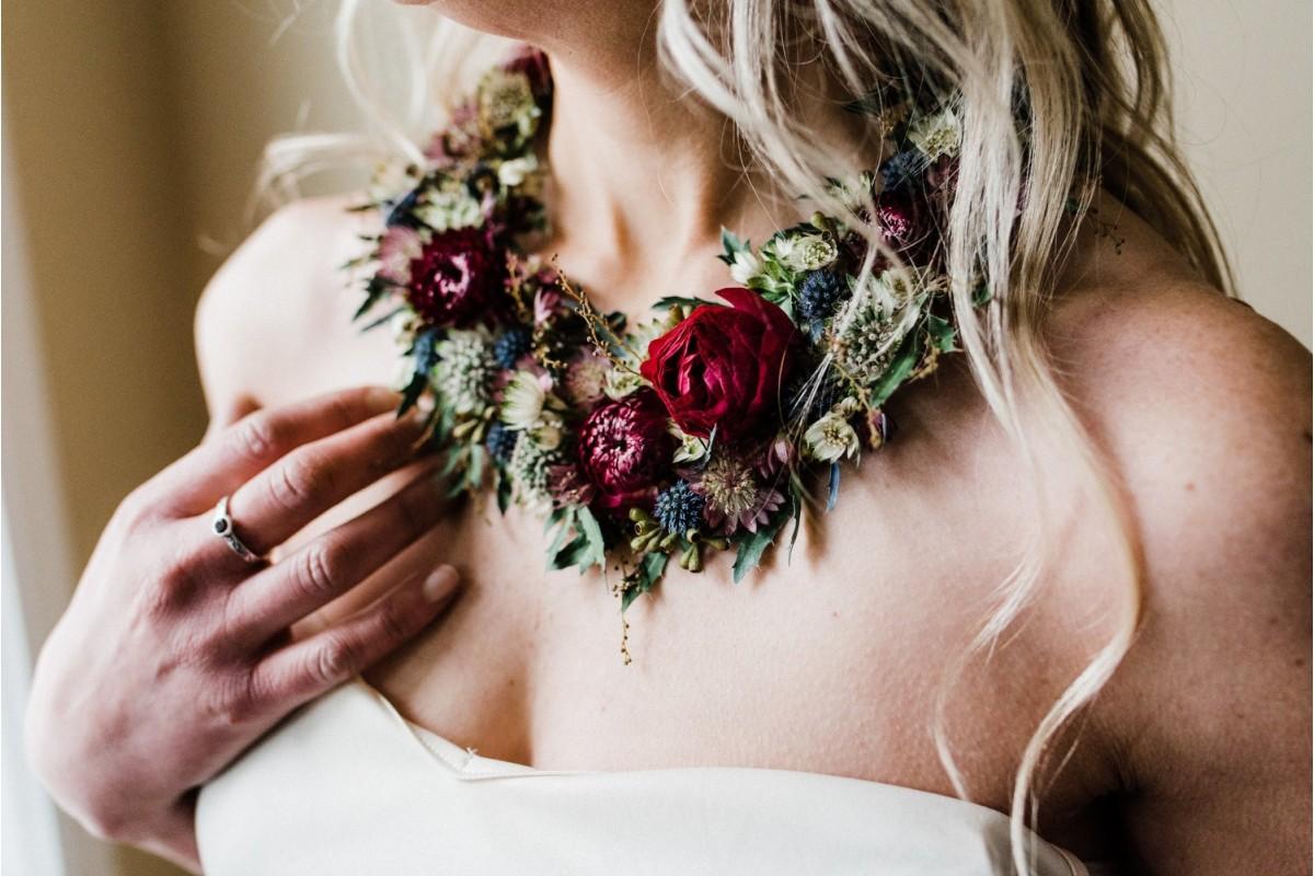 Дорогоцінні квіти: прикраси у формі квітів