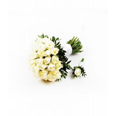 Букет невесты Маркиза де Помпадур,  403573 - купить  в магазине Украфлора по лучшей цене, всего 2 938 грн