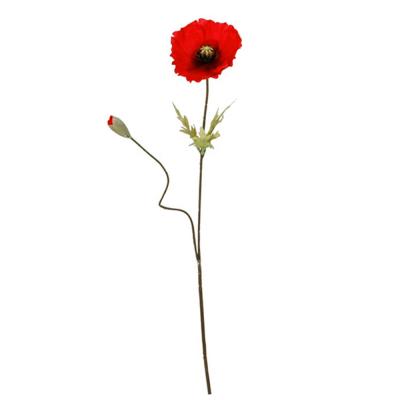 """Искусственный цветок """"Мак"""""""