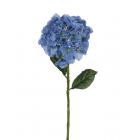 """Искусственный цветок """"Гортензия"""" голубой"""