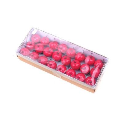 Набор декоративных яблок диаметр 35 мм