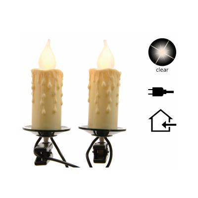 """Гирлянда электрическая LED """"Огонь свечи"""""""