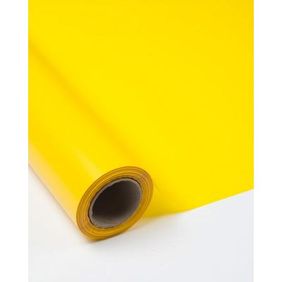 Плёнка флористическая жёлтая
