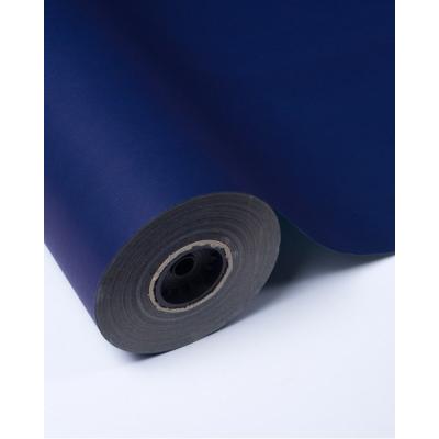 Бумага упаковочная синяя