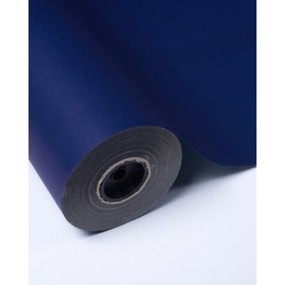Бумага упаковочная темно-синяя