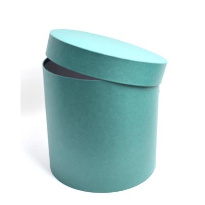 Шляпная коробка темно-зеленая