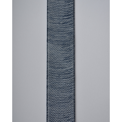 Лента декоративная темно-серая