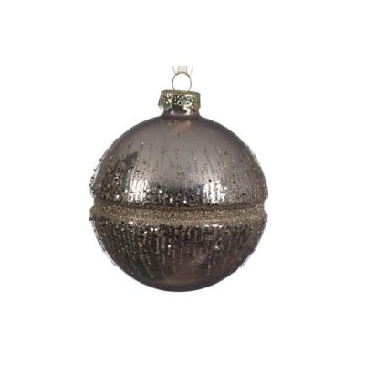 Набор новогодних шаров 8 см 3 штуки