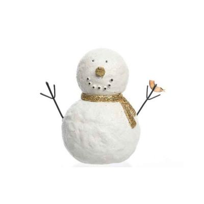 """Фигурка """"Белый снеговик"""""""