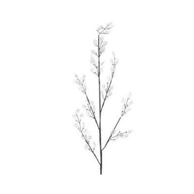 Искусственная ветка с листьями акрил