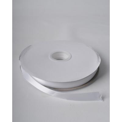 Лента атласная 1,5 см белая DL