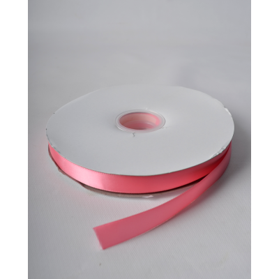 Лента атласная 1,5 см кораллово-розовый DL