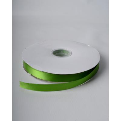 Лента атласная 1,5 см ярко-зеленая DL