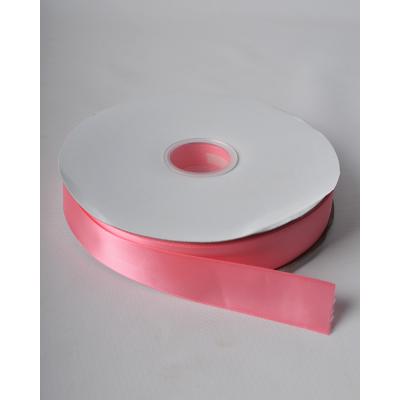 Лента атласная 2,5 см кораллово-розовая DL