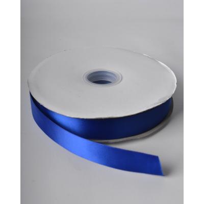 Лента атласная 2,5 см кобальт DL