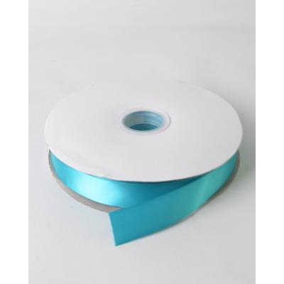 Лента атласная 2,5 см ярко-голубой DL