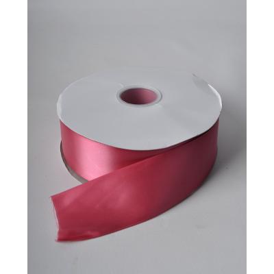 Лента атлас 5 см колониально-розовая DL