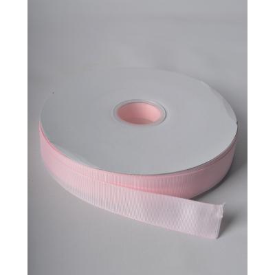 Лента репсовая 2,5 см нежно-розовая LW
