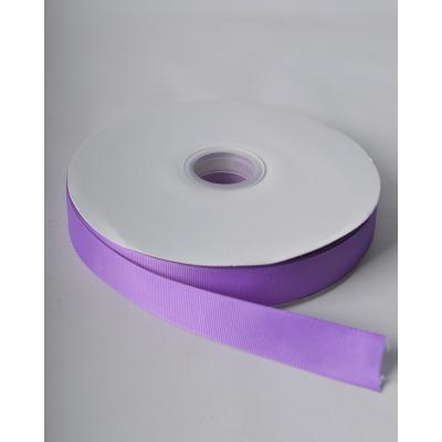 Лента репсовая 2,5 см светло-сиреневая LW