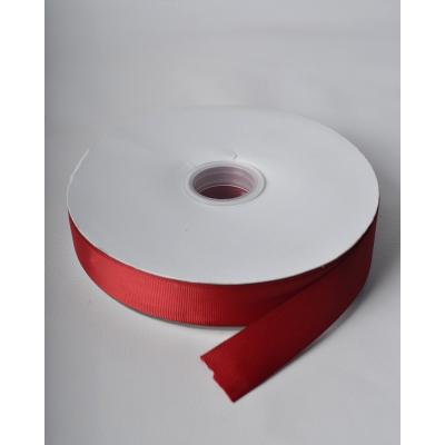 Лента репсовая 2,5 см скарлет LW