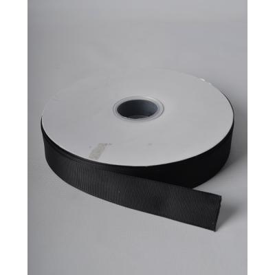 Лента репсовая 2,5 см черная LW