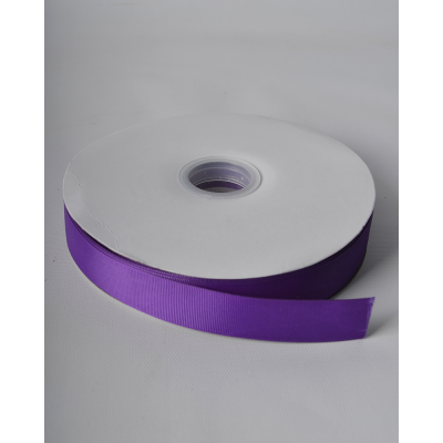 Лента репсовая 2,5 см пурпурная LW