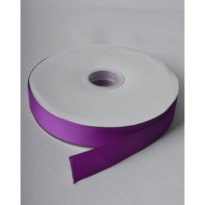 Лента репсовая 2,5 см фуксия LW