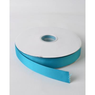 Лента репсовая 2,5 см голубой торнадо LW