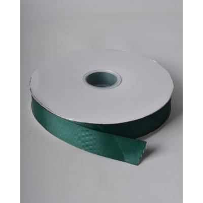 Лента репсовая 2,5 см изумрудная LW