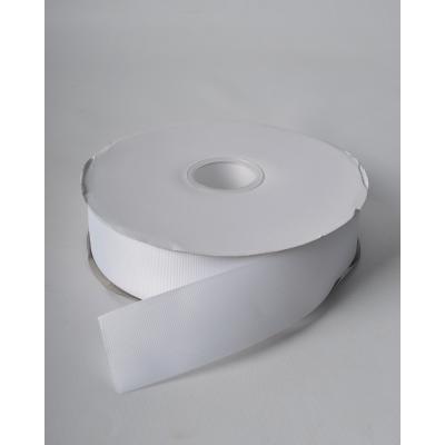 Летна репсовая 3,8 см белая LW