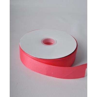 Летна репсовая 3,8 см кораллово-розовый LW