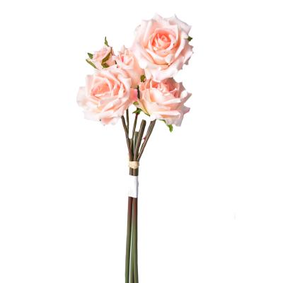 """Искусственный цветок """"Роза светло-розовая"""""""