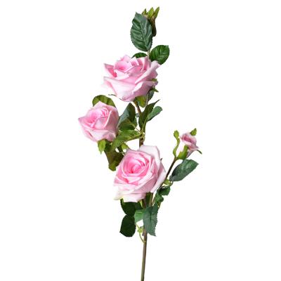 """Искусственный цветок """"Роза розовая"""" 1 м"""