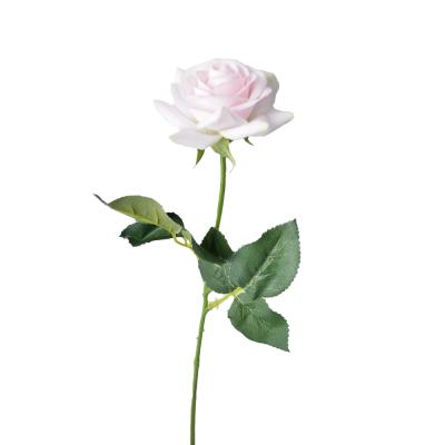 """Искусственный цветок """"Роза светло-розовая"""" 40 см"""