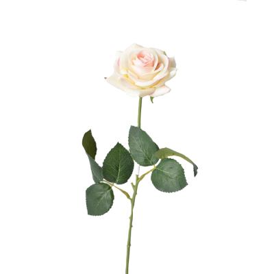 """Искусственный цветок """"Роза молочная"""" 40 см"""