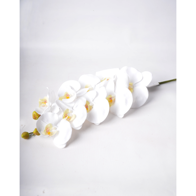 """Искусственный цветок """"Орхидея белая"""""""