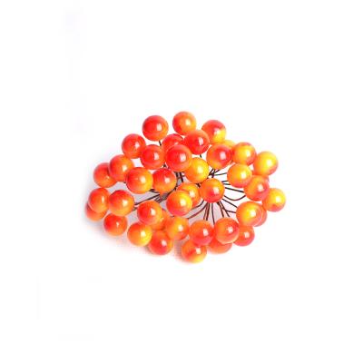 Искусственные ягоды красно-желтые, пучек