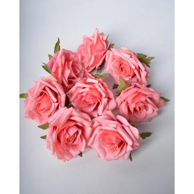 """Набор искусственных цветов """"Роза аква"""" 8 шт"""