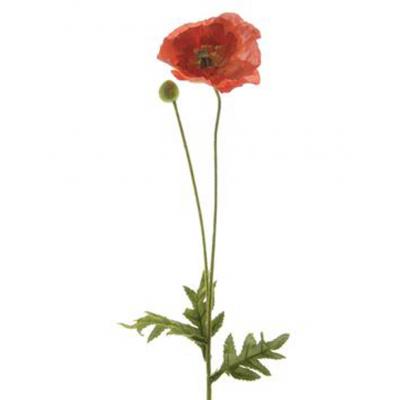 """Искусственный цветок """"Мак"""" в ассортименте"""