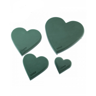 Форма из пены OASIS® ECObase® Heart Сердце